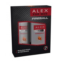 Alex Fireball díszdoboz borotvahab 200ml + after shave 100ml