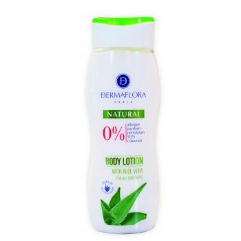 Dermaflora 0% testápoló Natural aloe vera