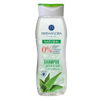 Dermaflora 0% sampon Natural aloe vera
