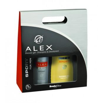 Alex Sport díszdoboz deo 150ml+tusfürdő 250ml