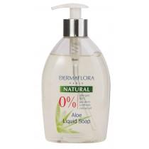 Dermaflora 0% Natural Aloe folyékony szappan