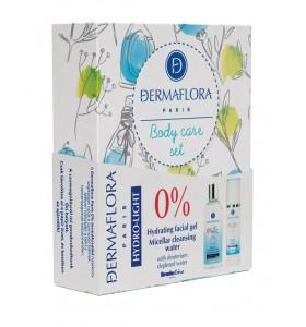 Dermaflora 0% Hydrolight díszdoboz gél 50ml + micellás 200ml