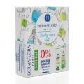 Dermaflora 0% díszdoboz tusfürdő 250ml + testápoló 250ml natural