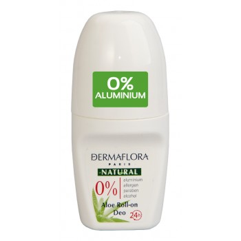 Dermaflora Natural  Aloe Roll-on Deo