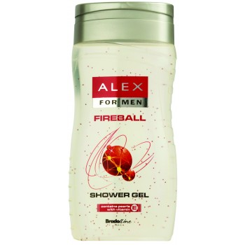 Alex Fireball Tusfürdő és sampon for Men